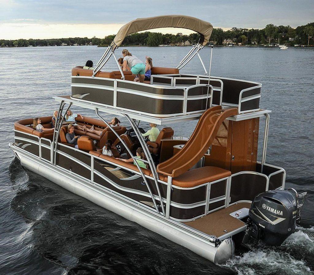 luxury pontoon