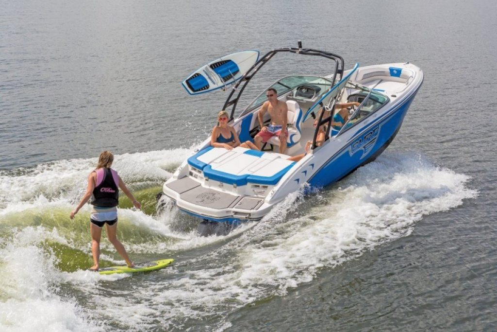 watersports on bowrider